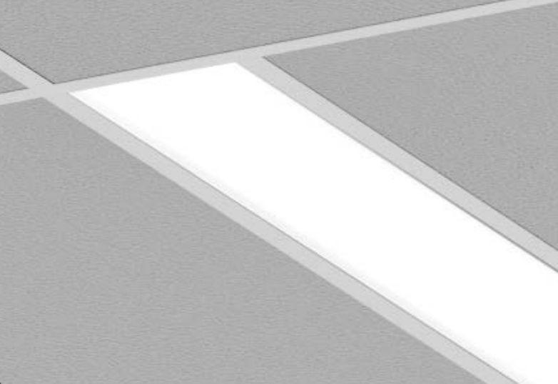 Axis Lighting Beam 4 Fluorescent Linear Recessed Light Fixture ...