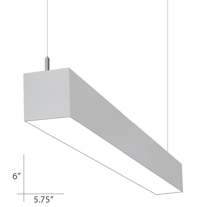 Alcon Lighting Beam 66 Series 10120-8 Architectural 8 Foot Linear ...