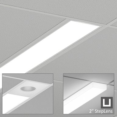 axis lighting b6rled beam 6 led linear recessed light fixture
