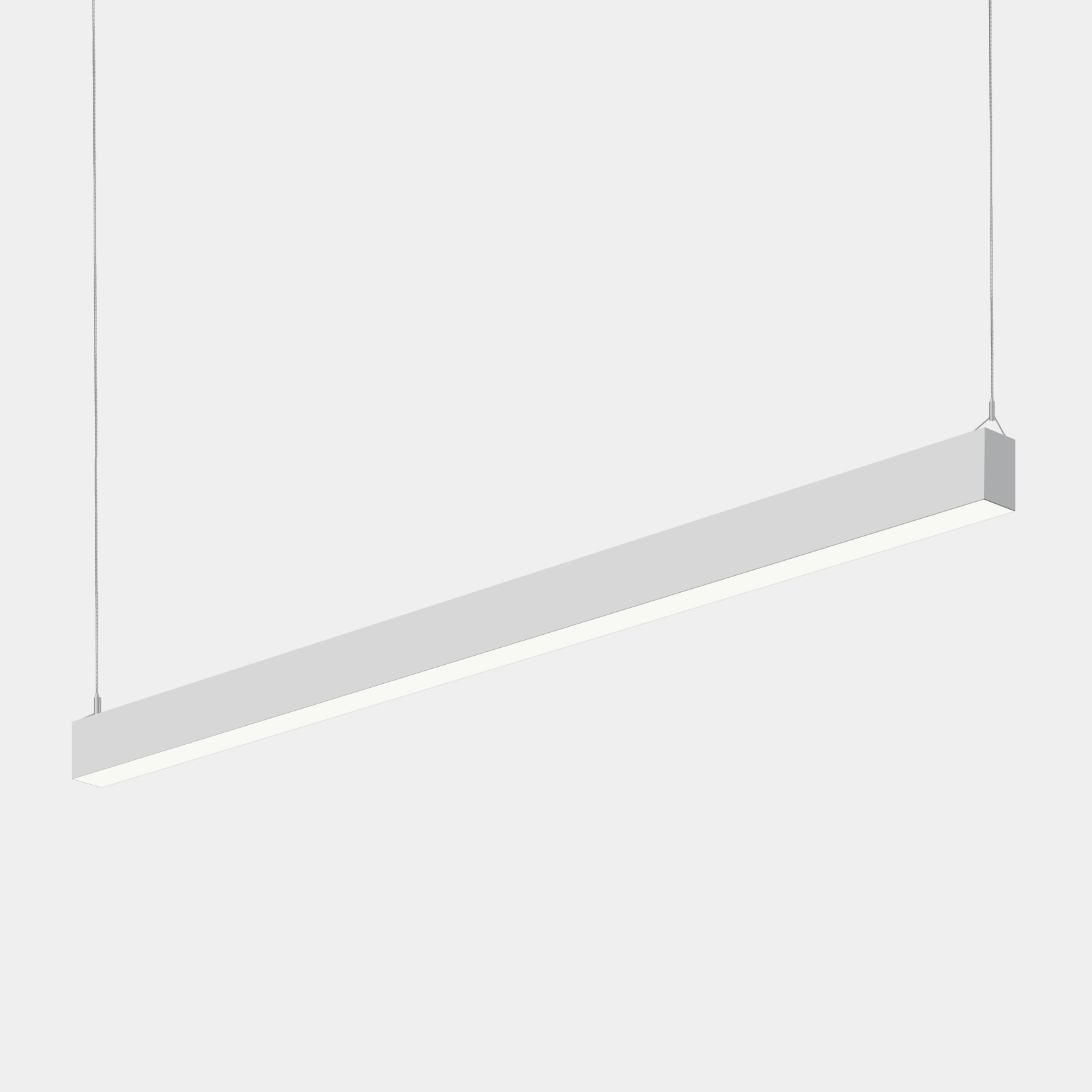 Alcon Lighting 12175 8 Beam 20 Series Architectural Led Foot Linear Pendant Mount Direct Indirect Light Fixture