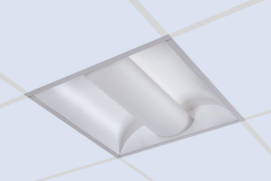 Lightolier CFS2GPF224 Coffaire II 2 x 2 Recessed Fluorescent Fixture ...