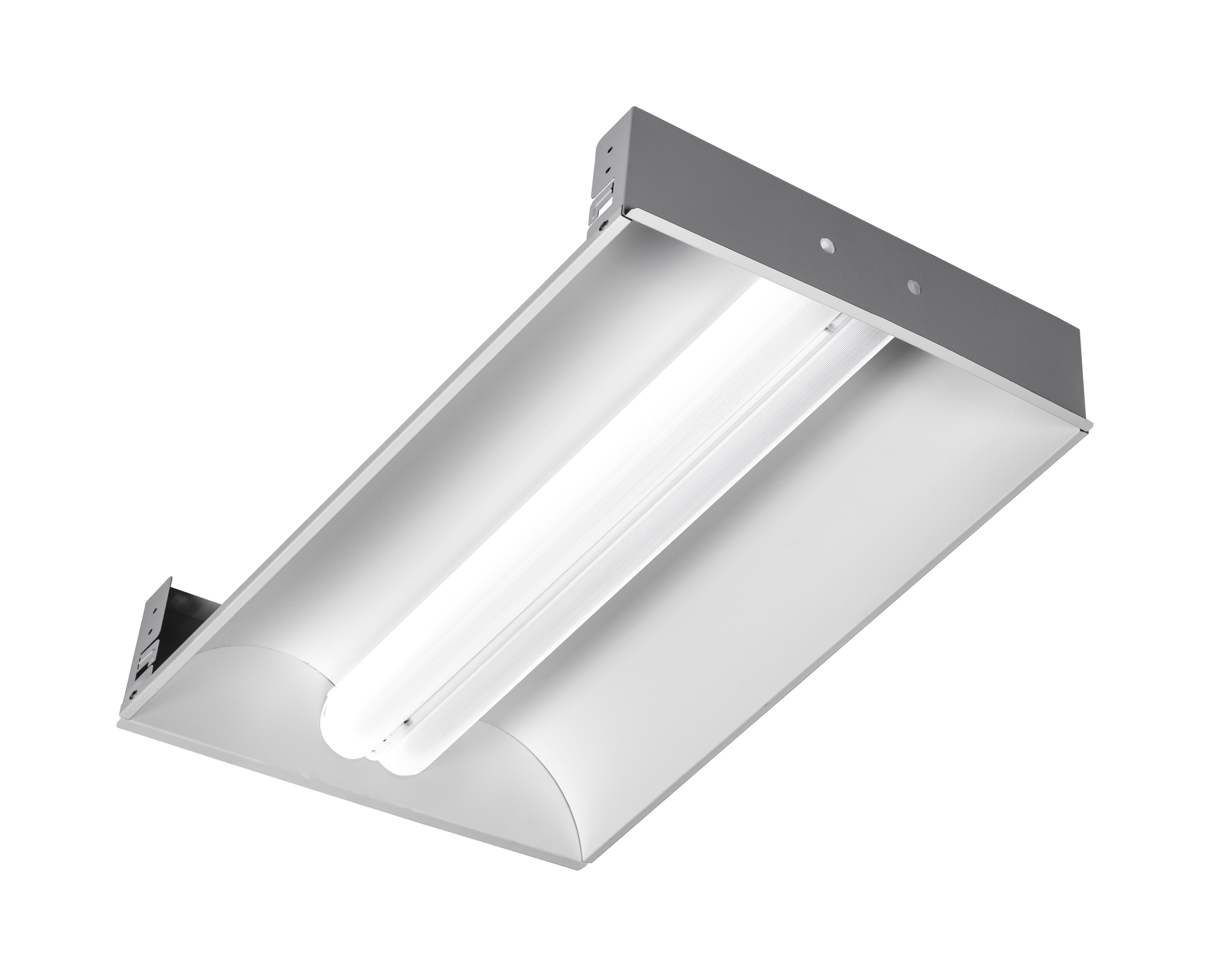 9e846e4d79f Alcon Lighting 14033 Aces Architectural LED 2x4 Recessed Center Basket  Ribbed Direct Light Troffer. Double tap to zoom