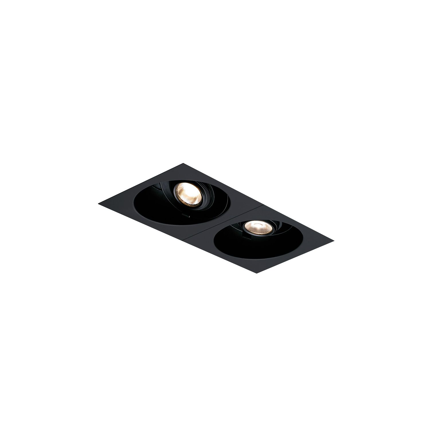 Element Multiples Open - EMO 12 - Double LED Recessed Lighting ...