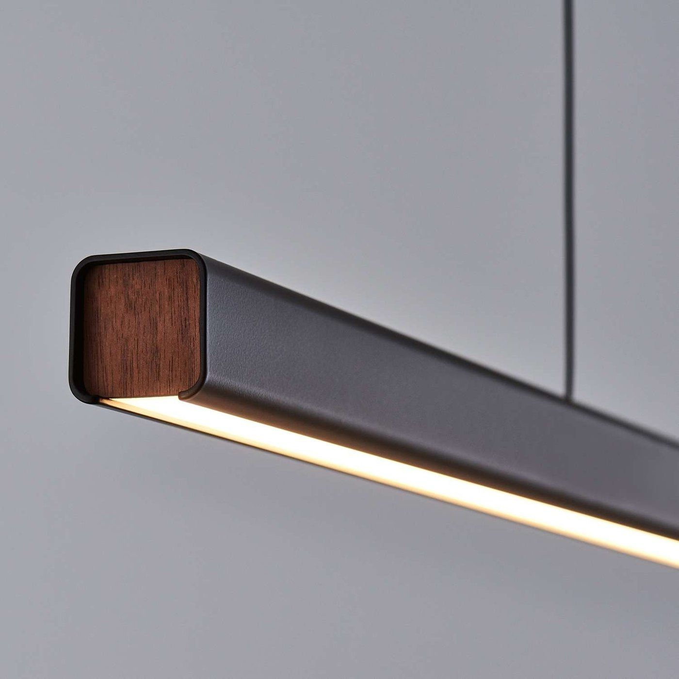 seed design mumu led linear suspension 32 watt 2150 lumen - Suspension Design Led