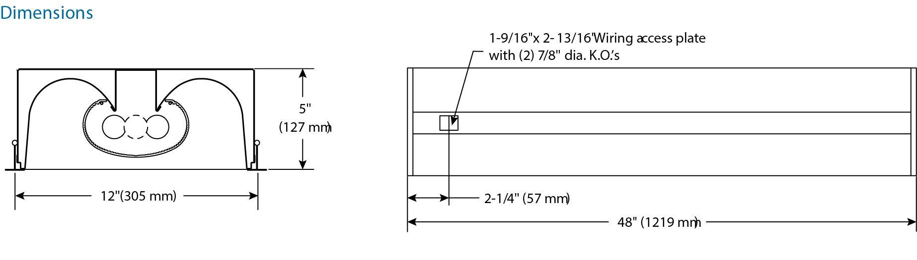 lightolier wiring diagram wiring library philips lightolier hp90 h9s1glr232unvhi recessed 1x4 fluorescent fixture 32 watt t8