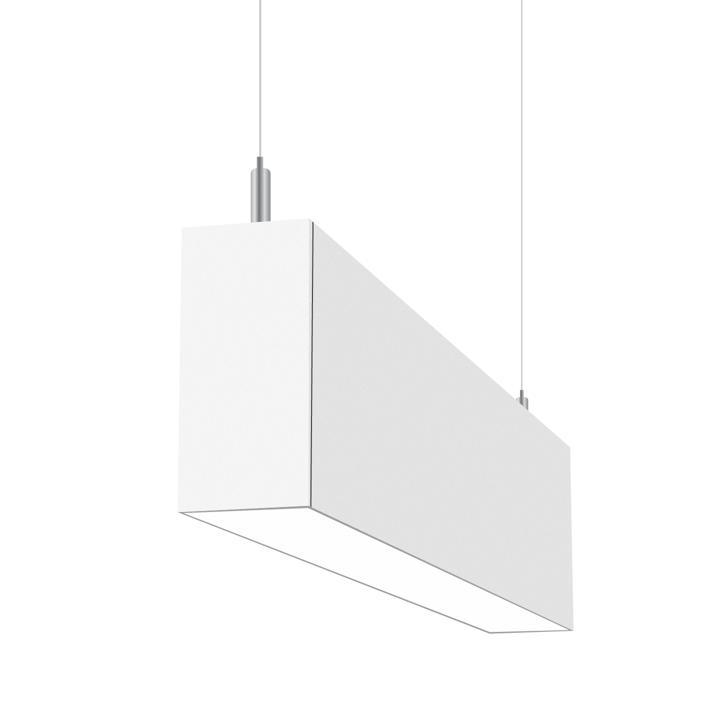 Alcon Lighting 14070 3 Illumine Architectural 5 Channel Color Tuning Led Foot Linear Pendant Direct Indirect Light Strip Fixture