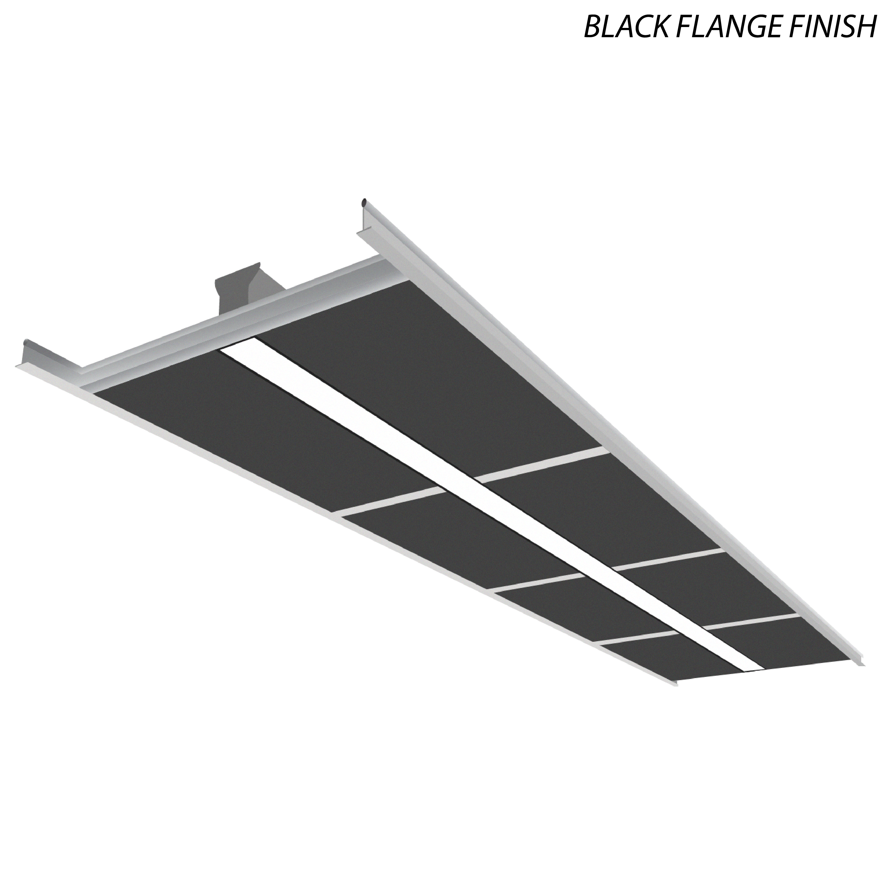 Alcon Lighting 14068 8 Illumine Architectural 5 Channel Color Tuning Led Foot Linear Recessed T Bar Direct Light Fixture
