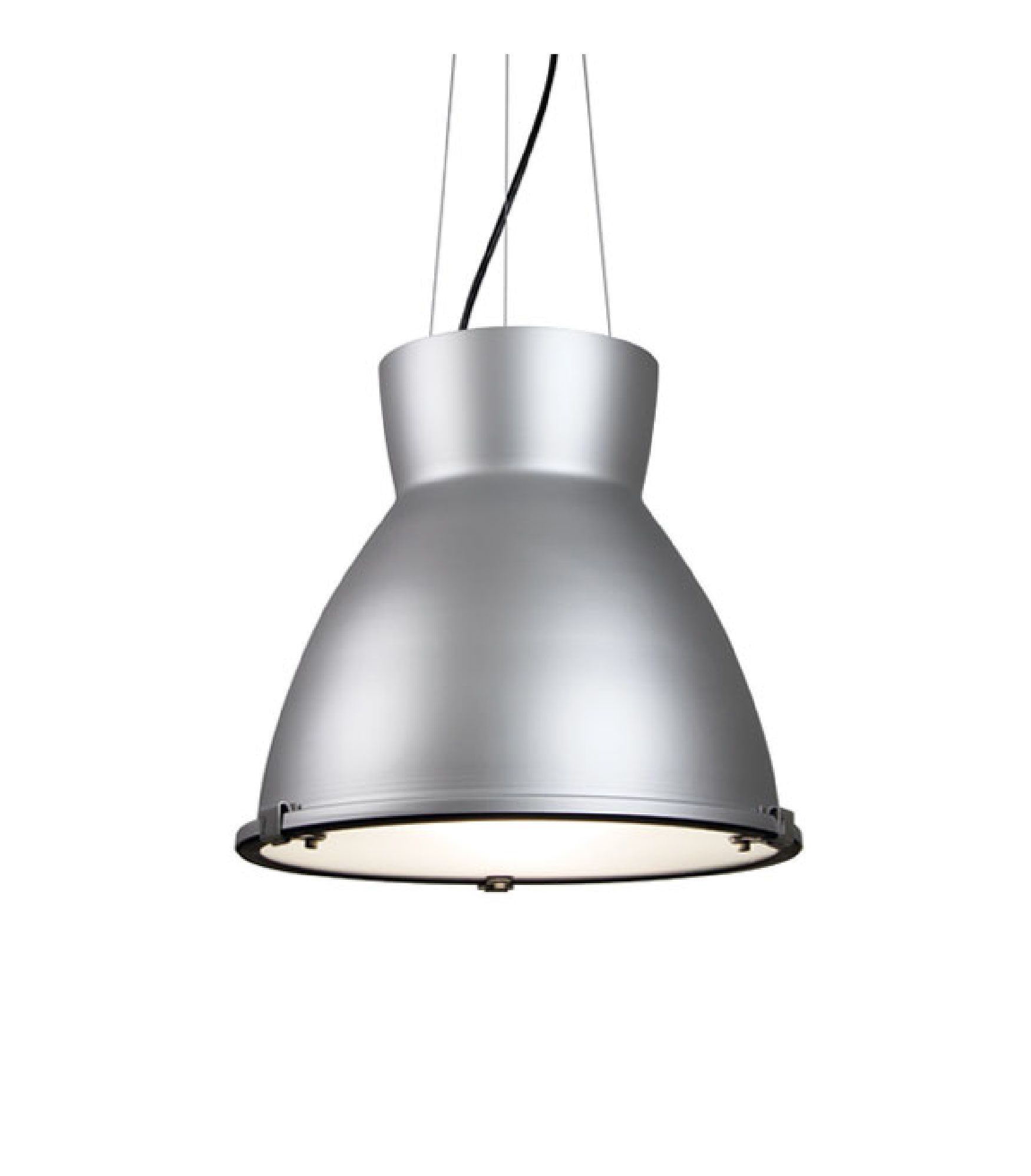 Alcon Lighting 15203 Suono Architectural Led High And Low Bay Round Pendant Mount Direct Down Light Fixture
