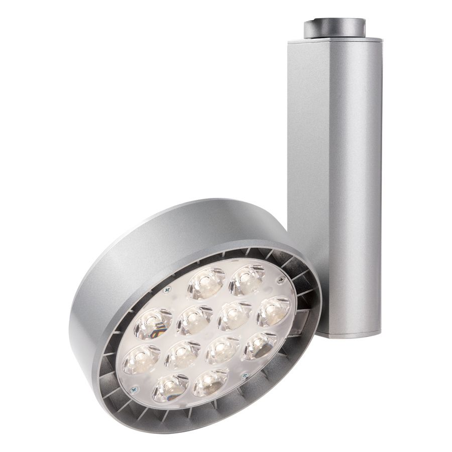 Philips lightolier lytespan small spot 34 watt led track light llab1 aloadofball Image collections