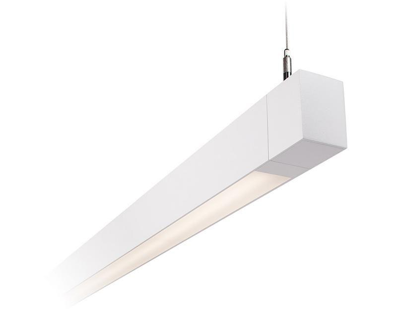 Philips Ledalite MQ06 MicroSquare Suspended Linear Fluorescent ...