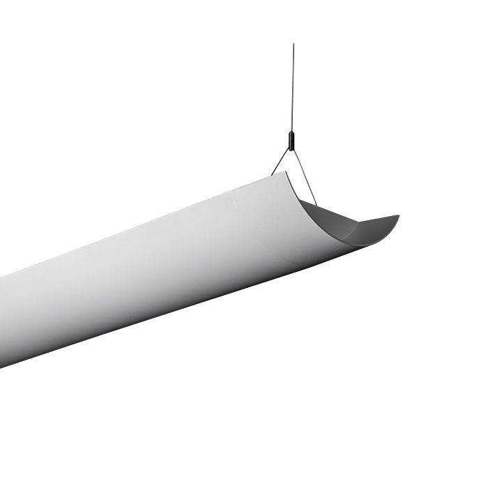 Alcon Lighting Niraj 10119 4 Fluorescent Foot Architectural T8 And T5ho Linear Suspended Light Fixture Indirect Only