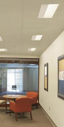 Alcon Lighting 1X4 Side Basket 7017 Fluorescent Troffer Light Fixture    Direct/Indirect