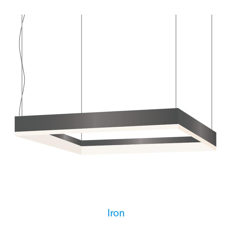 Alcon Lighting 12100-44-P-SQ-4 Continuum 44 Architectural LED 4x4 ...