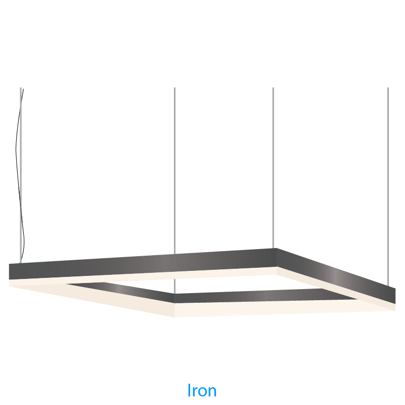 Alcon Lighting 12100-44-P-SQ-8 Continuum 44 Architectural LED 8x8 ...