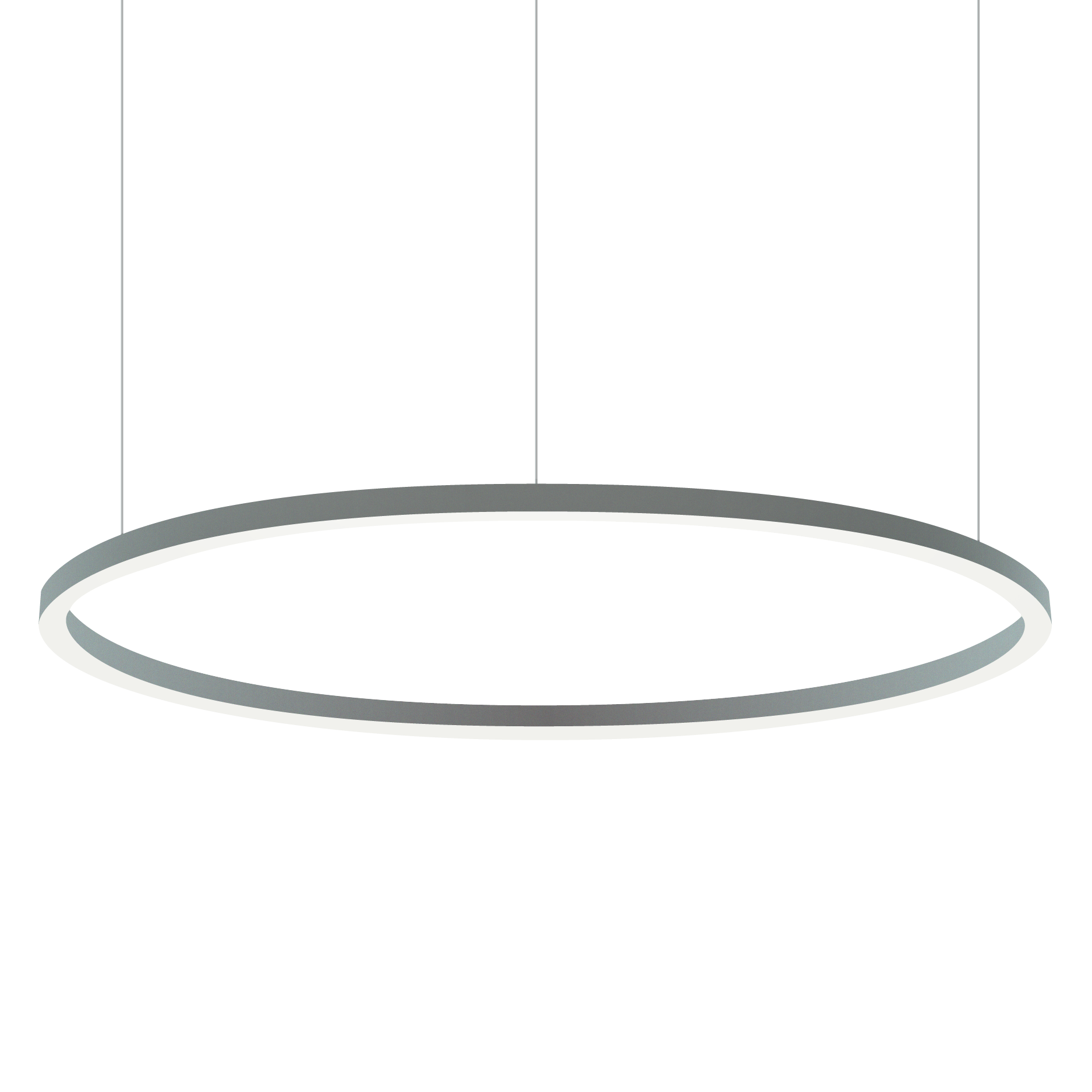Alcon lighting 12253 circline architectural led circular pendant mount direct down light fixture