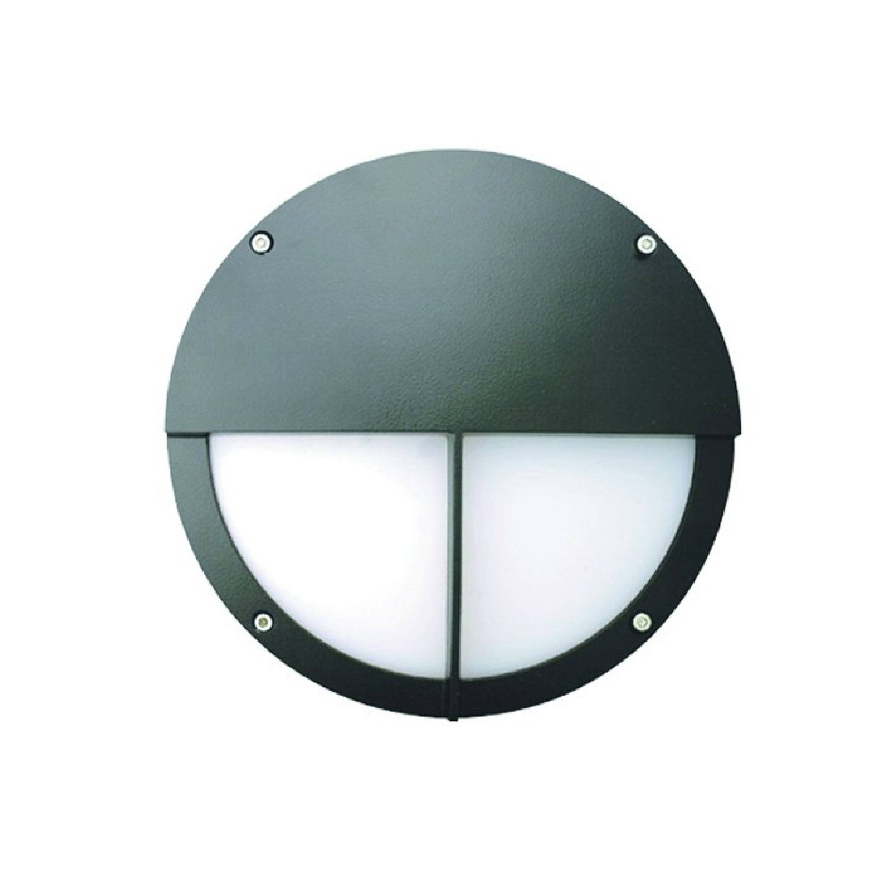 Alcon Lighting 11232 Hg Sentry Architectural Led 10 Inch Round Tamper Proof Surface Mount Wall Sconce Diffused Luminaire Half Lid Guard Bar