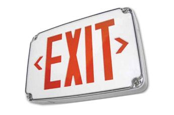 Alcon Lighting 902 Compact Wet Location LED Exit Sign