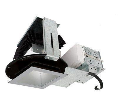 "Image 1 of Intense Lighting SS4SG2 4"" LED Square Downlight Light + Trim + Housing"