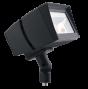 RAB LED FFLED80-D10 80 Watt 1/2 Inch Threaded Arm Mount LED Flood Light Dimmable