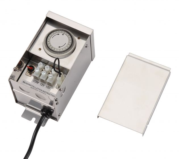 Image 1 of SPJ FB Forever Bright Landscape Lighting Transformer with Timer