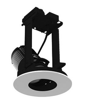 Image 1 of Intense Lighting IL-INTL-ATR RTRINTLA306 Adjustable Reflector LED Downlight Round Light + Trim + Housing