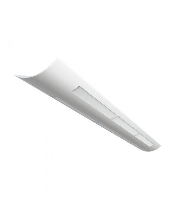 Alcon Lighting Matte White Lens 10121 Mw 8 Architectural Foot Linear Fluorescent Pendant