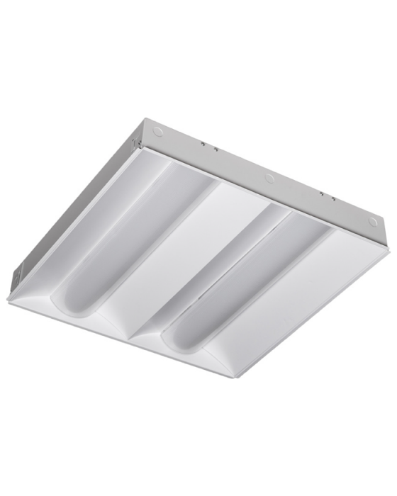 d114669b86a Alcon Lighting 14059 RTLED Architectural LED 2x2 Dual Basket Recessed  Direct Light Troffer