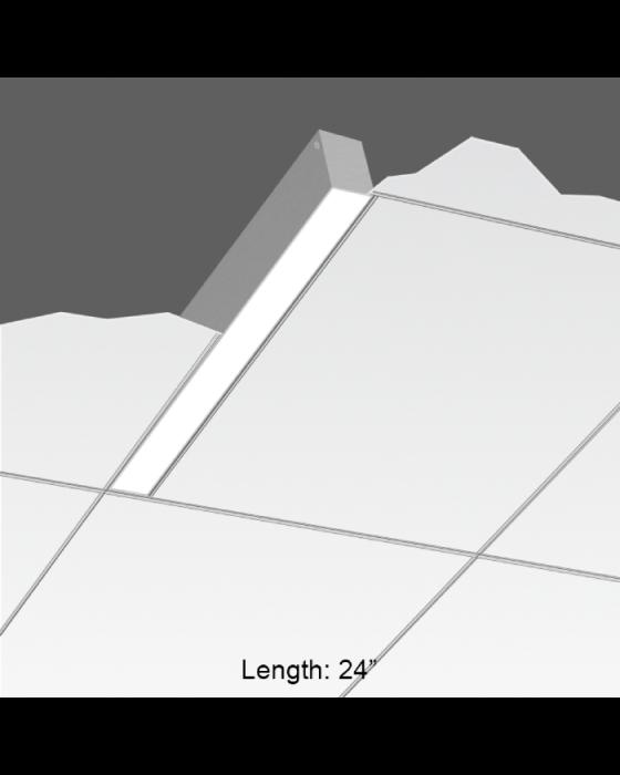 focal point lighting fsm2l seem 2 led linear recessed fixture