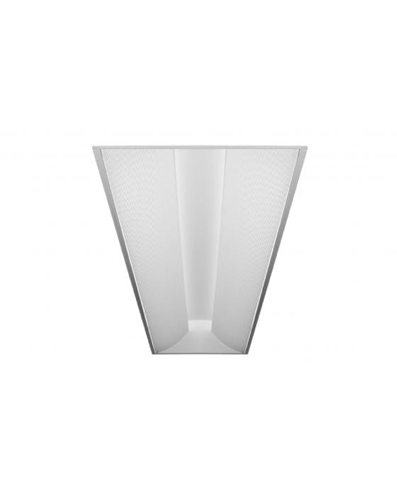 d6cbc641b28 Alcon Lighting 14080 Prestige Architectural LED 1x4 Recessed Side Basket  Direct Light Troffer