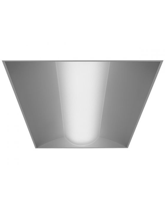 59655f2fb70 Alcon Lighting 14012 Prime Architectural LED 2x4 Low Profile Recessed  Center Basket Ribbed Direct Light Troffer