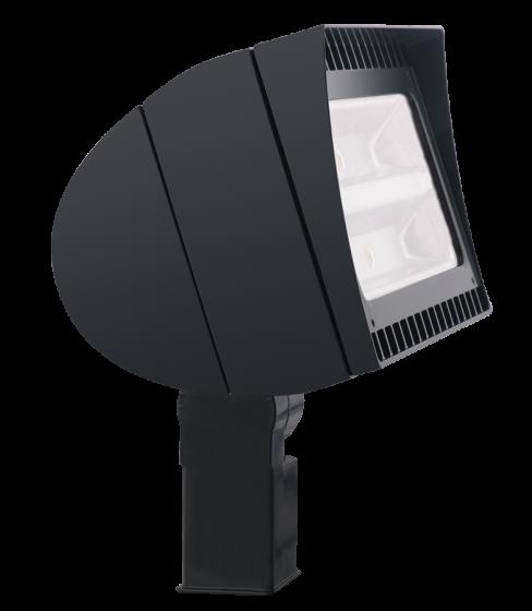 RAB FXLED78SF LED LFLOOD78 78 Watt LED Outdoor Flood Light with Slipfitter Mount