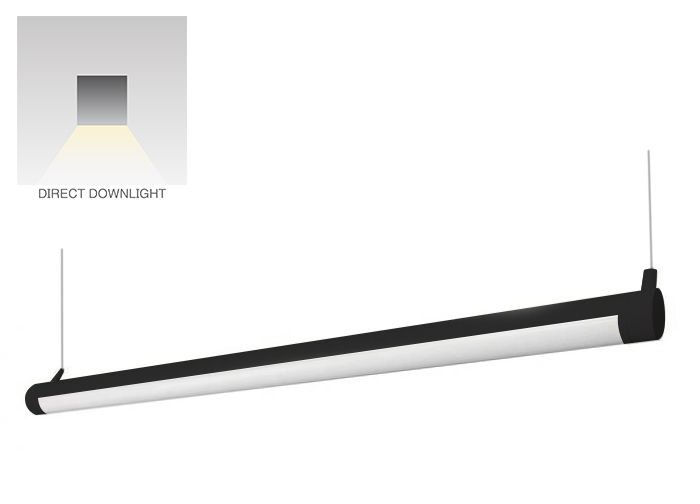 Alcon Lighting 12100-R2 Continuum R2 Architectural Lighting LED Tube Linear Suspension Light Fixture