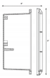 Image 3 of Alcon Lighting 9409-F Castel Architectural LED Low Voltage Step Light Flush Mount Fixture