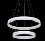 Image 2 of Alcon Lighting 12272-2 Redondo Architectural LED 2 Tier Ring Direct Downlight Chandelier Light
