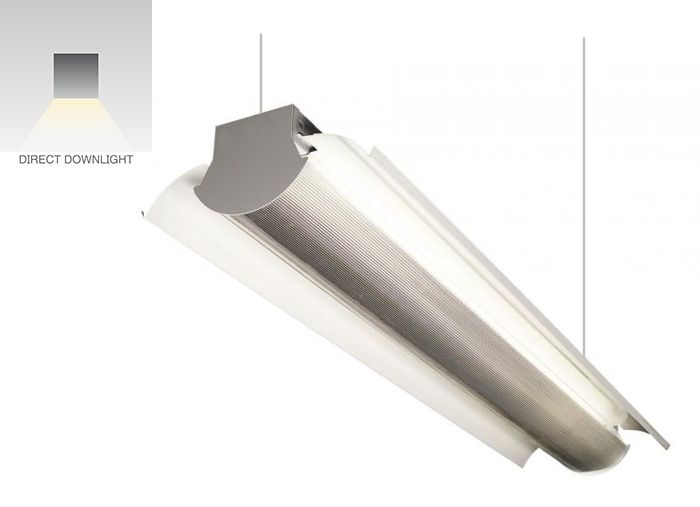 Image 1 of Alcon Lighting 12114 Dallas Architectural LED Suspended Commercial Direct Light Strip