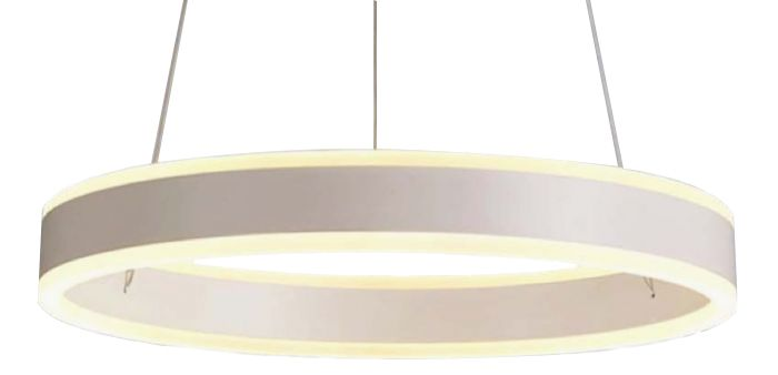 Image 1 of Alcon Lighting 12270-1 Redondo Suspended Architectural LED 1 Tier Ring Direct Indirect Chandelier Light