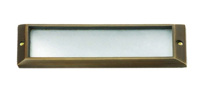 Image 1 of Alcon Lighting 9408-F Tory Architectural LED Low Voltage Step Light Flush Mount Fixture