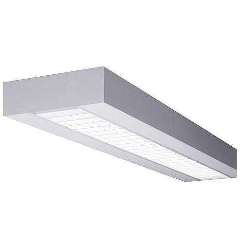 Finelite X1 Rectilinear Fluorescent Hanging Drop Fixture SX1-R