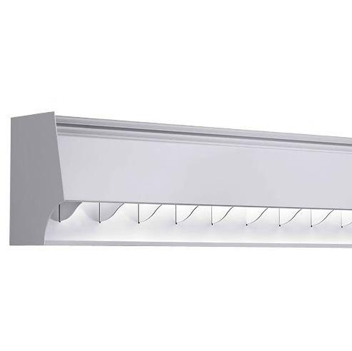 Finelite SX2-R Rectilinear Wall Wash Fluorescent Hanging Drop Fixture