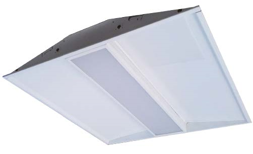 Alcon Lighting 14726-22 Crystalline Series Architectural LED 2x2 Recessed Direct Light Troffer