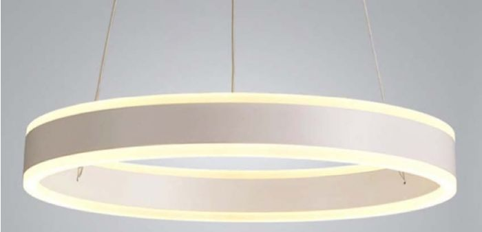 Alcon Lighting 12271-1 Redondo Suspended Architectural LED 1 Tier Ring Light Direct Indirect