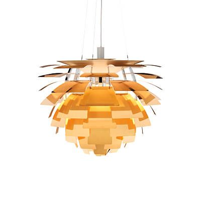 Louis Poulsen Lighting PH Artichoke Gold Pendant Light Fixture PHA-P-GOLD