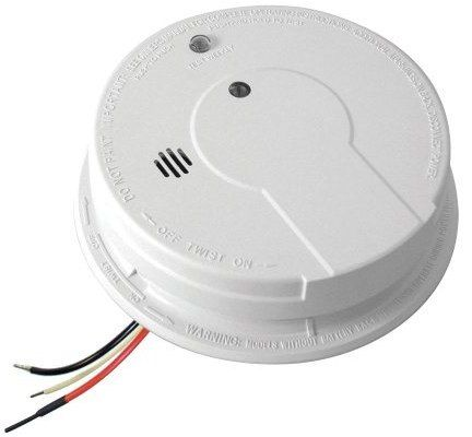 Kiddie FireX Smoke Detector w/ Battery Backup