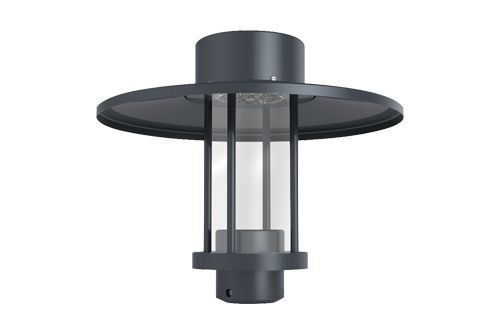 Image 1 of Alcon Lighting 11401 Hallstatt Architectural LED Post Top Light Fixture