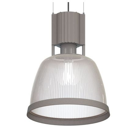 Image 1 of Alcon Lighting DP613 Potenza II Hybrid Fluorescent   Metal Halide Drop Down Commercial Pendant Light