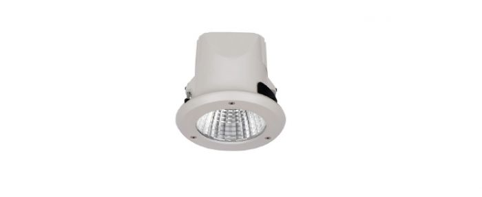 "Alcon Lighting 14078-4 Oreo 4"" Architectural and Commercial LED Vandal Resistant Outdoor IP67 LED Recessed Down Light"