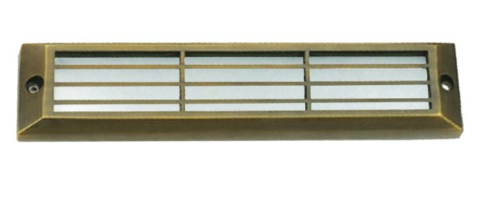 Image 1 of Alcon Lighting 9503-F Howell Architectural LED Low Voltage Step Light Flush Mount Fixture