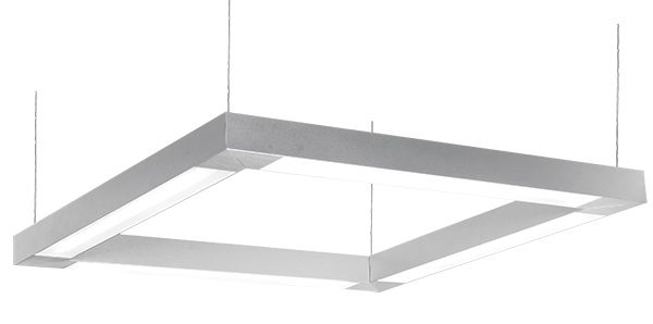 Deco Lighting CUBE LED Linear Suspended Pendant Light Fixture U2013 Commercial  / Architectural Office Lighting