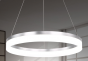 Image 2 of Alcon Lighting 12272-1 Redondo Architectural LED 1 Tier Ring Direct Downlight Chandelier Light