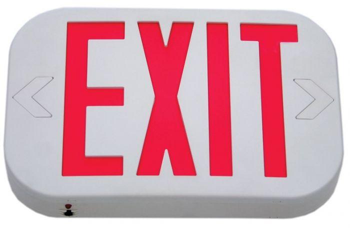 Atlantic Low Profile Exit Sign